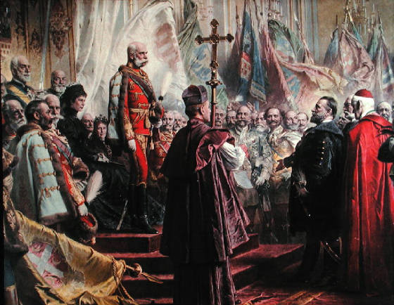 francis joseph of the habsburg empire In fact, even francis joseph spoke german however, germany was to the north of austria-hungary and is not to be  habsburg empire, while other groups such as the.