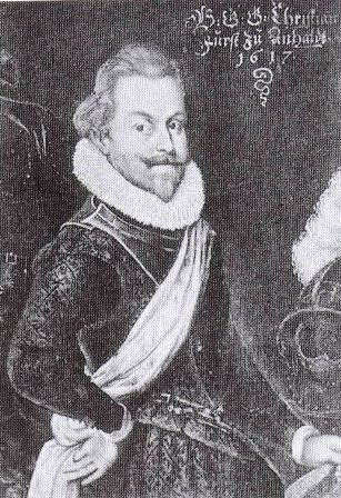 Christian I, Prince of Anhalt-Bernburg #