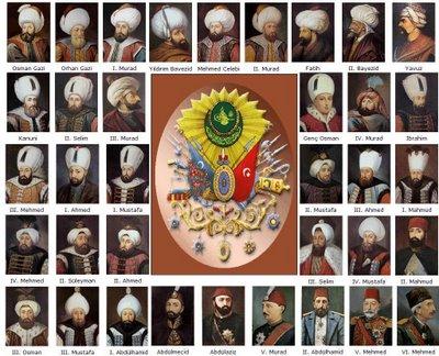 ottoman empire sultans 1